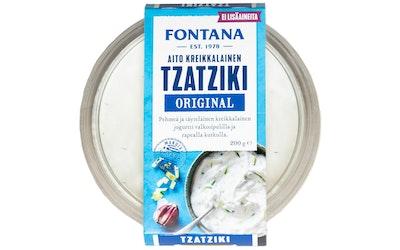Fontana aito kreikkalainen original tzatziki 200g