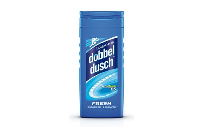 Dobbeldusch fresh suihkugeeli ja shampoo 250ml