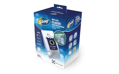 Electrolux E201 S-Bag Megapack 12kpl pölypussi ja tuoksu