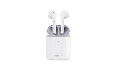 North Touch One TWS Bluetooth-nappikuuloke valkoinen