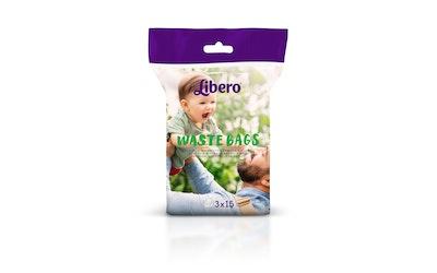 Libero jätepussi käytetyille vaipoille 45 kpl