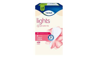 lights by TENA pikkuhousunsuoja Light Liner 28 kpl