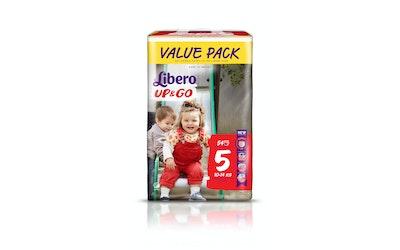 Libero Up&Go housuvaippa koko 5 (10-14 kg) 54 kpl Value Pack
