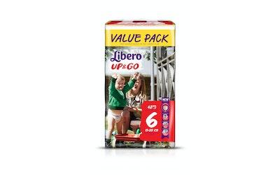 Libero Up&Go housuvaippa koko 6 (13-20 kg) 48 kpl Value Pack