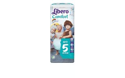 Libero Comfort teippivaippa koko 5 (10-14 kg) 50 kpl