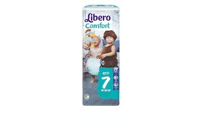 Libero Comfort teippivaippa koko 7 (16-26 kg) 42 kpl