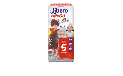 Libero Up&Go housuvaippa koko 5 (10-14 kg) 42 kpl