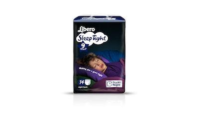 Libero SleepTight yövaippa koko 9 (22-37 kg) 14 kpl