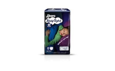 Libero SleepTight yövaippa koko 10 (35-60 kg) 12 kpl