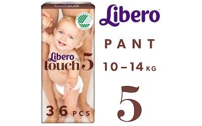 Libero Touch housuvaippa koko 5 (10-14 kg) 36 kpl