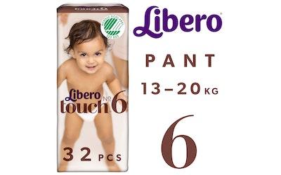 Libero Touch housuvaippa koko 6 (13-20 kg) 32 kpl