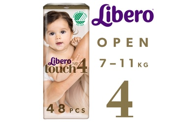 Libero Touch teippivaippa koko 4 (7-11 kg) 48 kpl