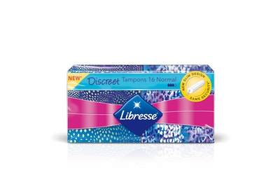 Libresse tamponi Discreet Normal 16 kpl
