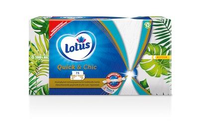 Lotus Quick&Chic talouspaperiarkki 75kpl