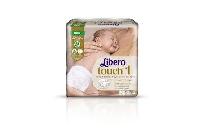 Libero Touch teippivaippa 22kpl 2-5kg koko 1