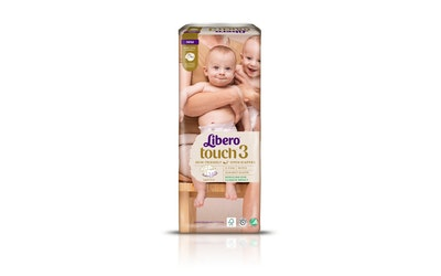 Libero Touch teippivaippa 50kpl 4-8kg koko 3