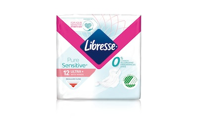Libresse side 12kpl Ultra Norm Pure Sensitive with wings