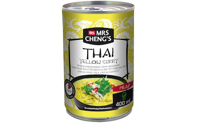 Mrs Cheng's Thai Yellow Curry valmis ateriakastike 400ml