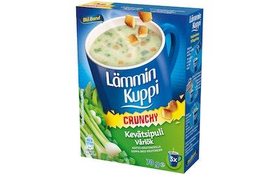 Blå Band Lämmin Kuppi Crunchy kevätsipulikeitto krutongeilla 3x23,3g