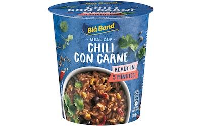 Blå Band Meal Cup Chili con carne riisi-naudanliha-chili-ateria 70g