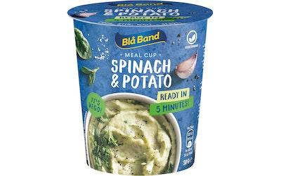 Blå Band Meal Cup Spinach & Potato perunasose-pinaatti-ateria 50g