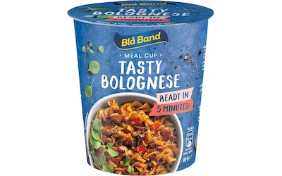 Blå Band Meal Cup Tasty Bolognese pasta-ateria 70g