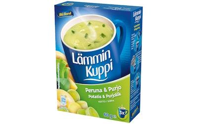 Blå Band Lämmin Kuppi 3x20 peruna-purjo
