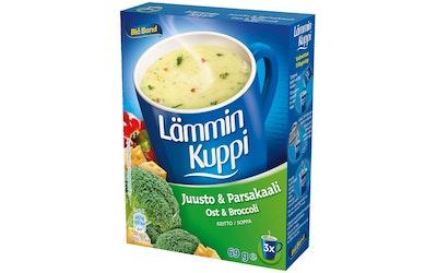 Blå Band Lämmin Kuppi 3x23g juust-parsak