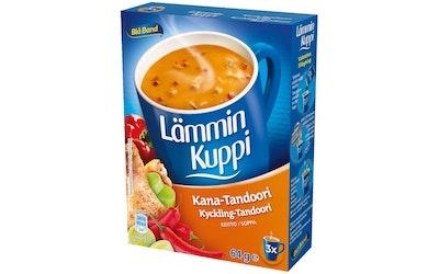 Blå Band Lämmin Kuppi Kana-Tandoorikeitto 3x21g