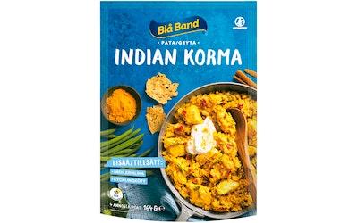 Blå Band Indian Korma pata Riisi-kasvis-mausteseos 164g