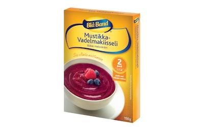 Blå Band Mustikka-Vadelmakiisseli 150 g