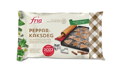 Fria Bröd piparkakkutaikina 500g gluteeniton pakaste
