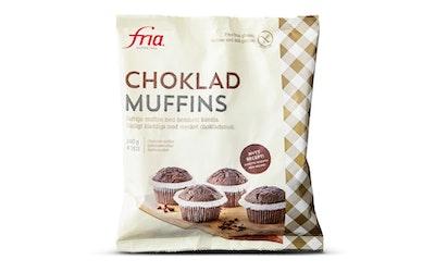 Fria Chokladmuffins 240g/4kpl Suklaamuffini gluteeniton pakaste