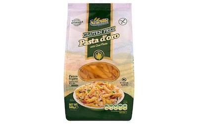 SamMills Pasta D'oro penne luontaisesti gluteeniton pasta 500g