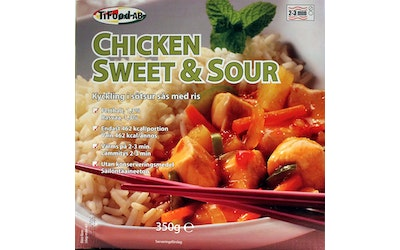 Tifood 350g Chicken sweet and sour