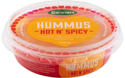Sevan hummus 150g hot and spicy