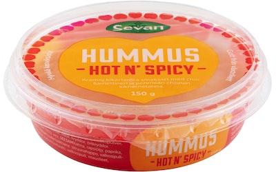 Sevan hummus 150g hot and spicy