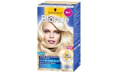 Schwarzkopf Blonde vaalennusaine hiusväri L1++ Extreme Strong
