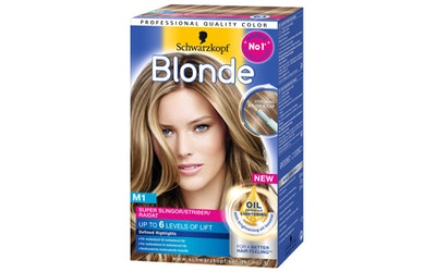 Schwarzkopf Blonde raita-aine M1 Super Raidat