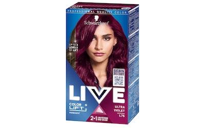 Schwarzkopf Live hiusväri L76 Ultra Violet