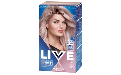 Schwarzkopf Live 104 Cool Lilac hiusväri