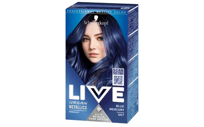 Schwarzkopf Live U67 Blue Mercury hiusväri - kuva