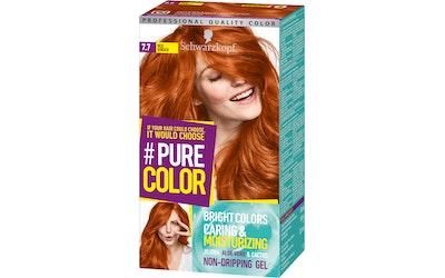 Schwarzkopf #PureColor 7.7 Red Ginger hiusväri - kuva