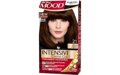 Palette Mood hiusväri 21 Kahvinruskea