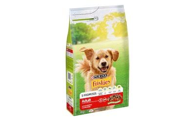 Friskies Adult Runsaasti Lihaa 4kg koiranruoka