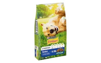 Friskies Senior Kanaa ja lisättyjä Kasviksia 7,5kg koiranruoka