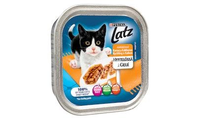 Latz Kanaa & Kalkkunaa Hyytelössä 100g kissanruoka
