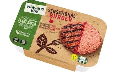 Hälsans Kök incredible burger 226g pakaste
