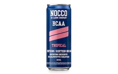 Nocco BCAA energiajuoma 0,33l tropical