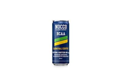 Nocco BCAA energiajuoma 0,33l Carnival